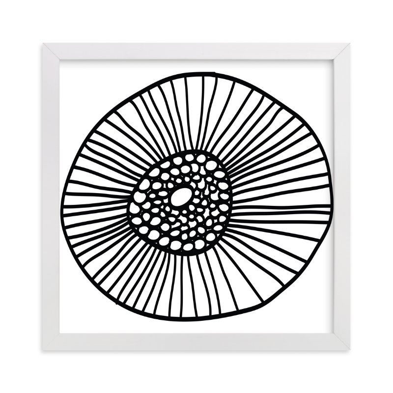 """""""lines & circles"""" - Art Print by aticnomar in beautiful frame options and a variety of sizes."""