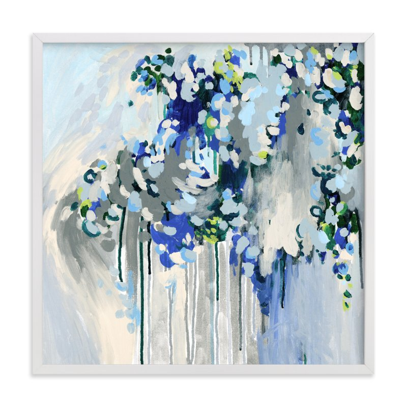 """""""Noise"""" - Art Print by Katie Craig in beautiful frame options and a variety of sizes."""