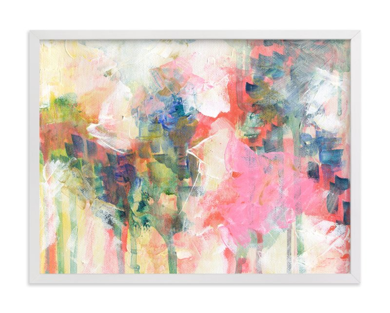 """""""Carnation Spray"""" - Art Print by 2birdstone in beautiful frame options and a variety of sizes."""