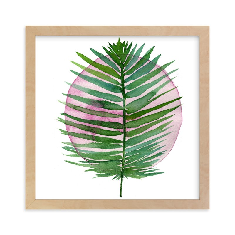 """spotlight - sago palm"" - Art Print by Kiana Mosley in beautiful frame options and a variety of sizes."