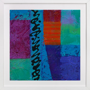 Color Block II  Art Print