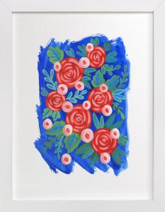Red Roses.  Art Print