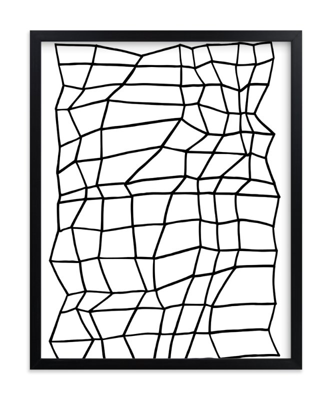 """Planar 1"" - Art Print by Jaime Derringer in beautiful frame options and a variety of sizes."