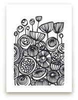 Pop Art Flowers by Gill Eggleston