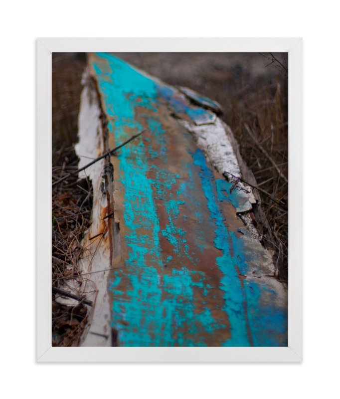 """Distressed Under The Tobin"" - Art Print by That Girl Studio in beautiful frame options and a variety of sizes."