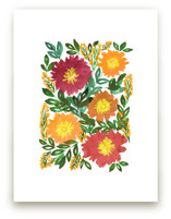 hand painted flowers_5c by aticnomar