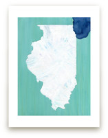 Illinois in Paint by Denise Wong