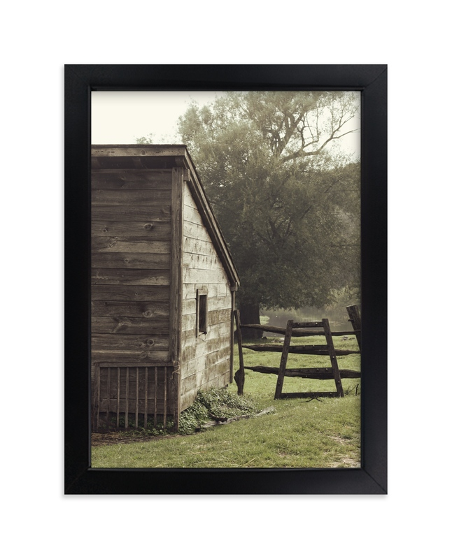 """""""Peaceful Days"""" - Art Print by Gray Star Design in beautiful frame options and a variety of sizes."""
