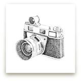 Flashing Lights Vintage Camera