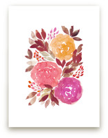 hand painted flowers_5b by aticnomar