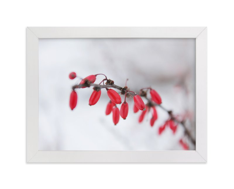 """""""Winter Jewels"""" - Art Print by Karen Kaul in beautiful frame options and a variety of sizes."""