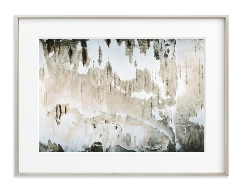 """Textured Birch"" - Art Print by Melanie Severin in beautiful frame options and a variety of sizes."