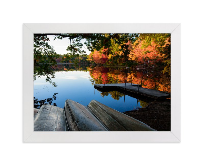 """Season's End"" - Art Print by Mark Kirby in beautiful frame options and a variety of sizes."