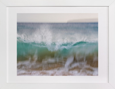 Hawaii Wave Break  Art Print