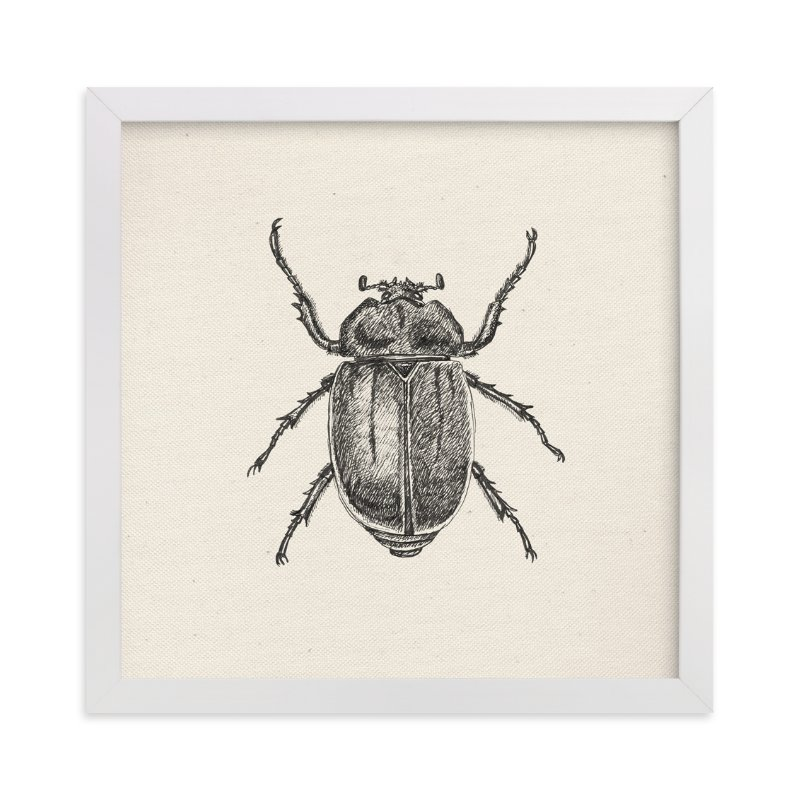 """""""A bug"""" - Art Print by iamtanya in beautiful frame options and a variety of sizes."""