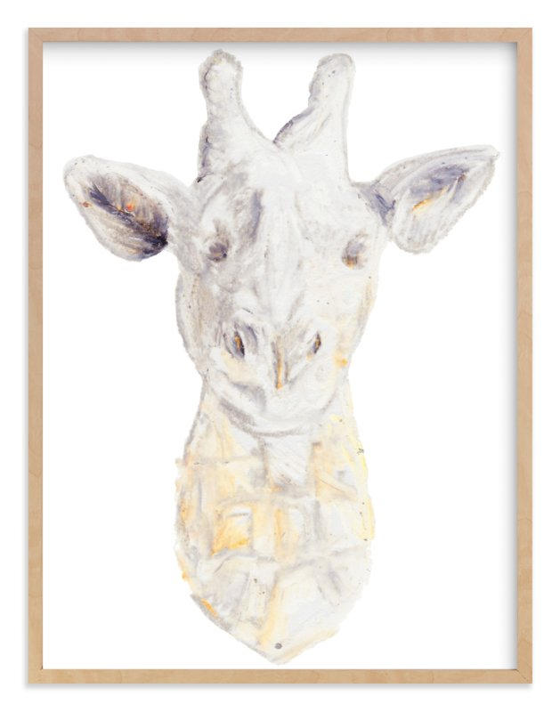 """""""Wild Glamour No. 2"""" - Art Print by Kaydi Bishop in beautiful frame options and a variety of sizes."""