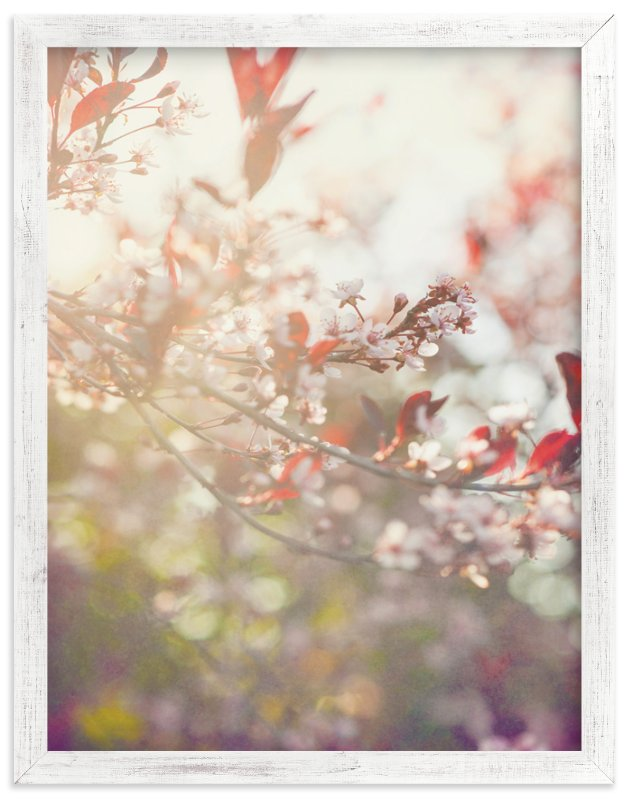 """""""Wild Cherry"""" - Art Print by Smile Peace Love in beautiful frame options and a variety of sizes."""