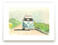 Summer Road Trip by Roxanne Fay