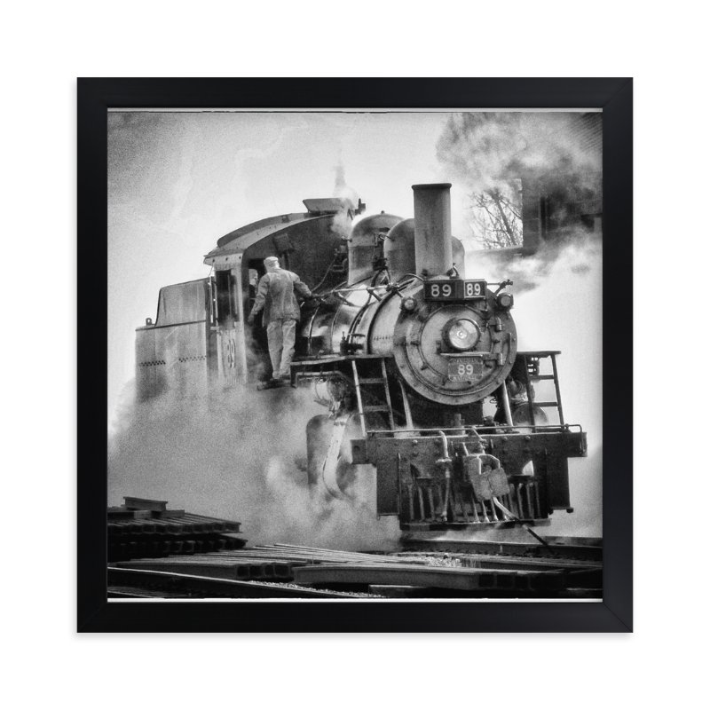 """""""Engine 89"""" - Art Print by A Maz Designs in beautiful frame options and a variety of sizes."""