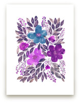 HAND PAINTED FLOWERS_4I by aticnomar