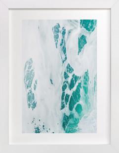 Cerulean Swell I  Art Print