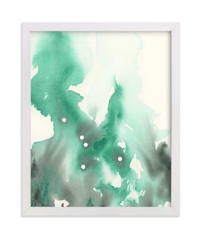"""Cancer Constellation"" - Art Print by Emily Magone in beautiful frame options and a variety of sizes."