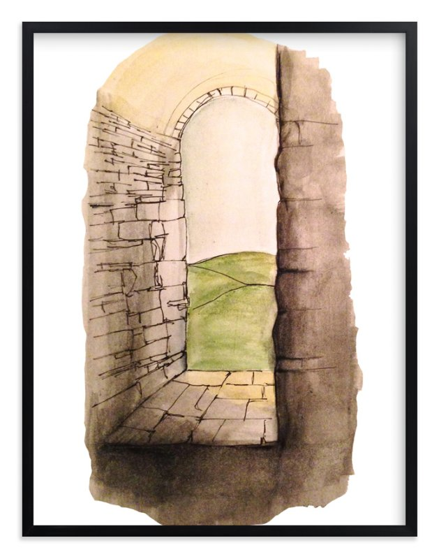 """""""Window to Italy"""" - Art Print by Haley Moore in beautiful frame options and a variety of sizes."""