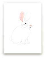 Blushing Bunny by Molly Schafer