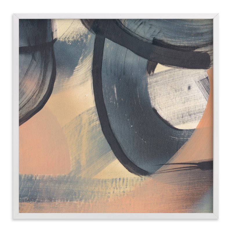 """""""Get Closer To Neutral Series 4"""" - Art Print by Angela Simeone in beautiful frame options and a variety of sizes."""
