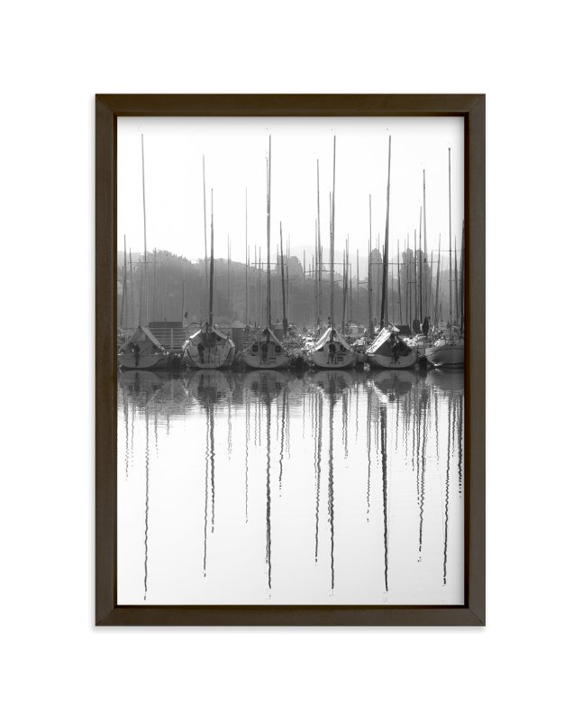 """calligraphy ripple"" - Art Print by van tsao in beautiful frame options and a variety of sizes."