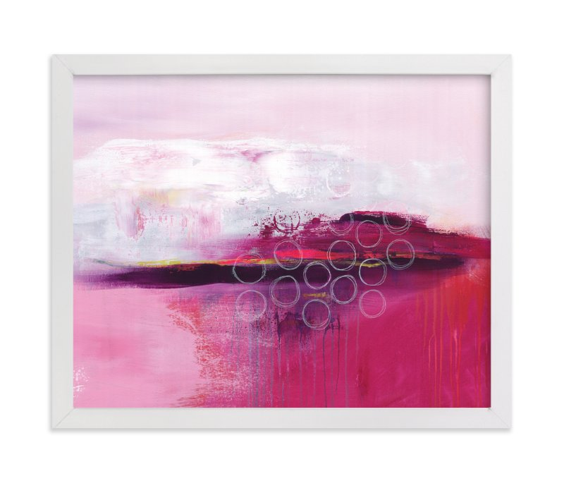 """Wide Awake"" - Art Print by Julie Hawkins in beautiful frame options and a variety of sizes."