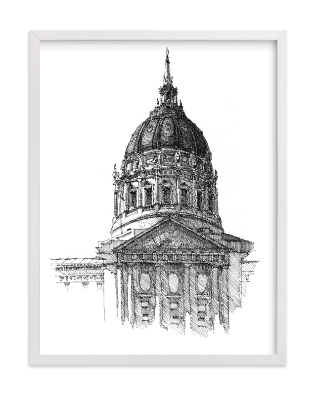 """""""The Dome """" - Art Print by IMG_101 in beautiful frame options and a variety of sizes."""