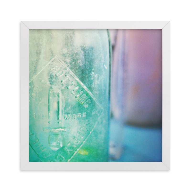 """Glass"" - Art Print by Smile Peace Love in beautiful frame options and a variety of sizes."