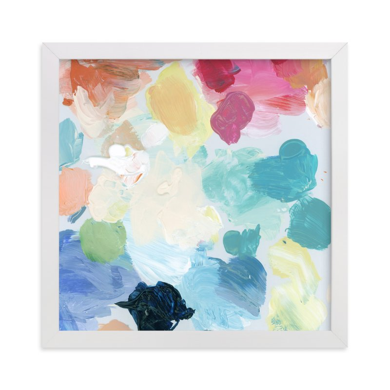 """""""Palette 1"""" - Art Print by Lindsay Megahed in beautiful frame options and a variety of sizes."""