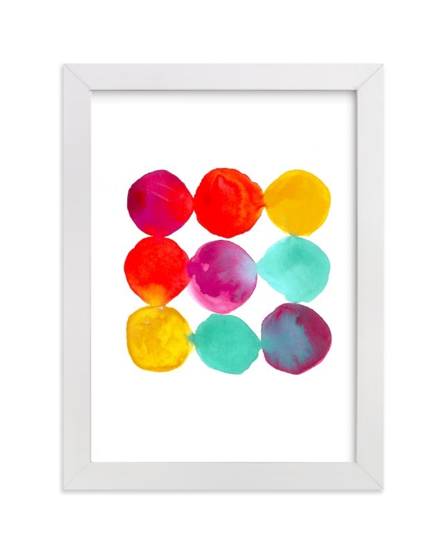 """Palette"" - Art Print by Lori Wemple in beautiful frame options and a variety of sizes."