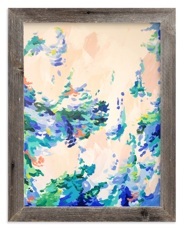 """Floating"" - Art Print by Katie Craig in beautiful frame options and a variety of sizes."