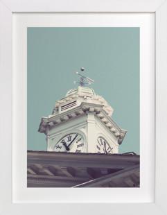 The Time Teller  Art Print