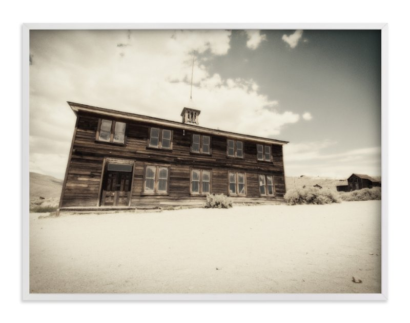 """""""Buildings of Bodie, CA :: III"""" - Art Print by Kellie Medivitz in beautiful frame options and a variety of sizes."""
