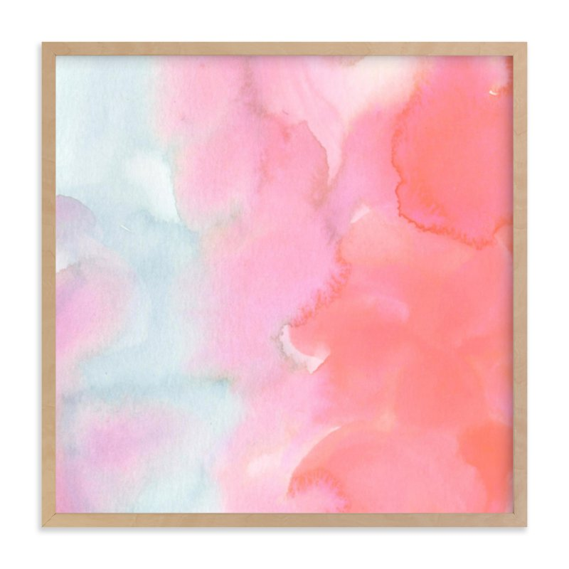 """Autumn, No. 1 (Clouds)"" - Art Print by SylvieCeres Designs in beautiful frame options and a variety of sizes."