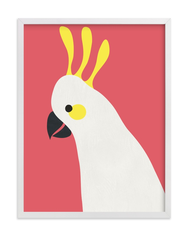 Hello Cocky! Marketplace Art Print