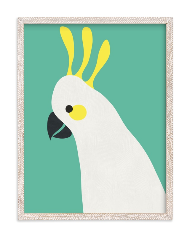 """Hello Cocky! "" - Art Print by Catherine Culvenor in beautiful frame options and a variety of sizes."