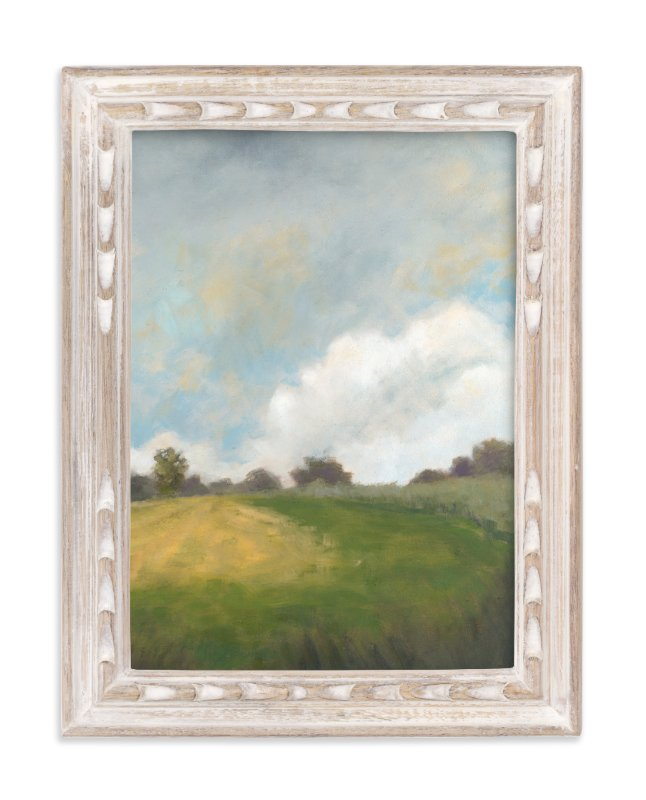"""""""Summer Path"""" - Art Print by Stephanie Goos Johnson in beautiful frame options and a variety of sizes."""