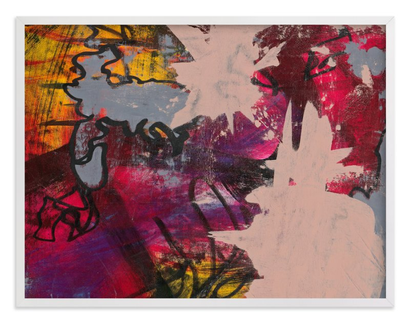 """""""Upstart Series 1"""" - Art Print by Angela Simeone in beautiful frame options and a variety of sizes."""