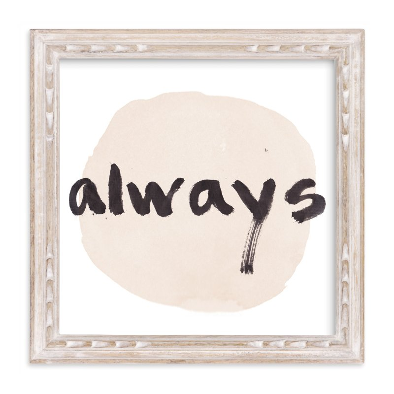 """""""Love Always"""" - Art Print by Qing Ji in beautiful frame options and a variety of sizes."""