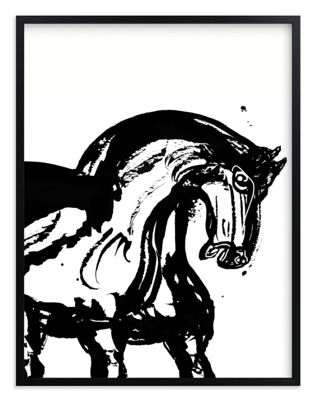 """""""Wild Horses"""" - Art Print by Stuart Heir in beautiful frame options and a variety of sizes."""