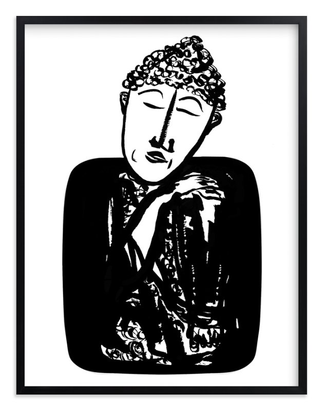 """""""mind over matter"""" - Art Print by Stuart Heir in beautiful frame options and a variety of sizes."""