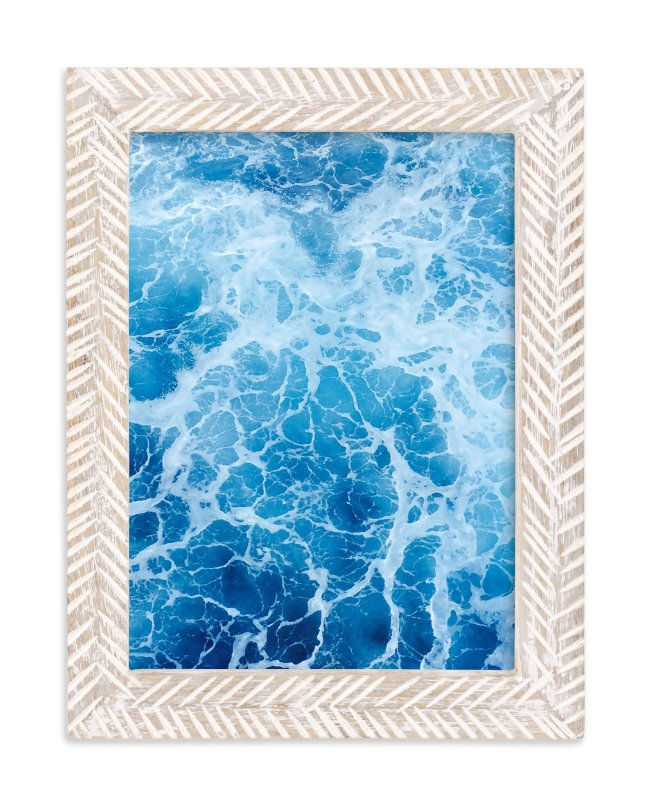 """""""Moving With Blues"""" - Art Print by CaroleeXpressions in beautiful frame options and a variety of sizes."""