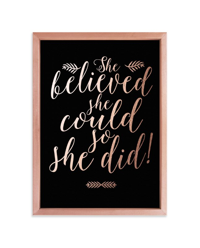 """""""She Did"""" - Art Print by Mely D Lozano in beautiful frame options and a variety of sizes."""