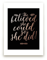She Did by Mely D Lozano