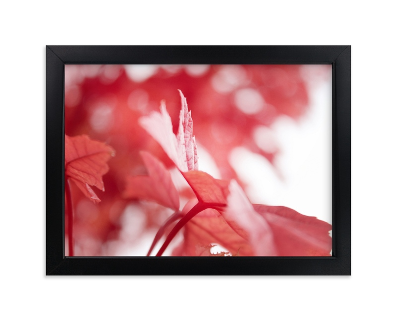 """""""Scarlet Season"""" - Art Print by Karen Kaul in beautiful frame options and a variety of sizes."""